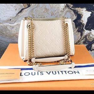 Louis Vuitton Surene BB Ivory Empreinte Leather Ba